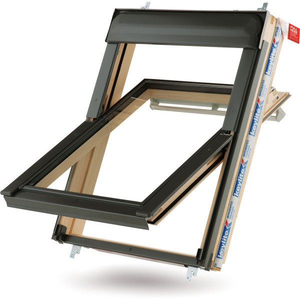 Keylite Centre Pivot Roof Window 550 x 980mm CP02T